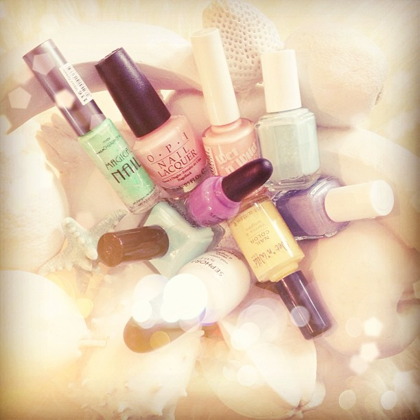 pastel nail polishes for spring