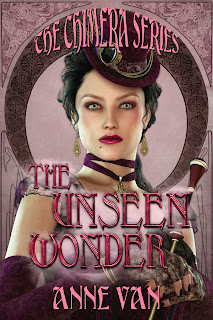 The Unseen Wonder by Anne Van book cover