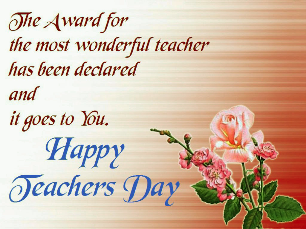 Happy teachers day wishes quotes messages images wallpaper image special quotes for teachers day m4hsunfo