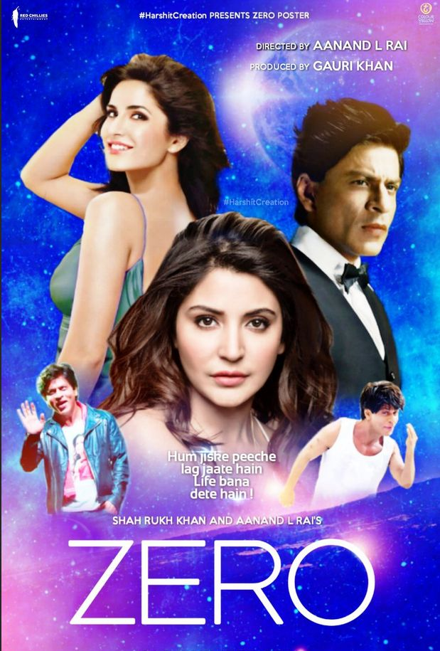 Zero (2018) Update Print Audio Clean Hindi 720p Desi Pre Rip x264 AAC Download (Best Print)
