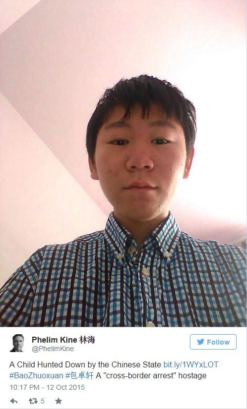 ChinaAid: Washington Post: How a 16-year-old found himself