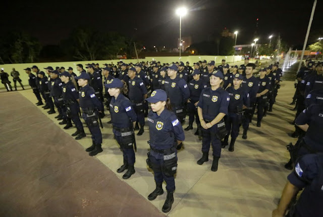 Prefeito Firmino faz lançamento oficial da Guarda Municipal em Teresina (PI)