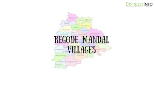 Regode Mandal with villages