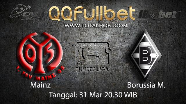 BOLA88 - PREDIKSI TARUHAN BOLA MAINZ VS BORUSSIA MONCHENGLADBACH 31 MARET 2018 ( GERMAN BUNDESLIGA )