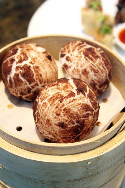 Conrad Hotel Manila's China Blue by Jereme Leung Truffle Mushroom Buns