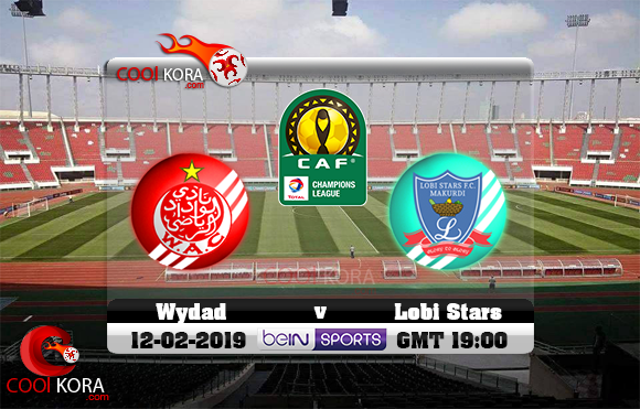 مشاهدة مباراة الوداد ولوبي ستارز اليوم 12-1-2019 دوري أبطال أفريقيا