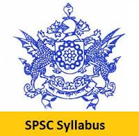 SPSC Syllabus
