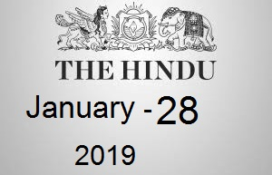 The Hindu Newspaper Today 28 January 2019 Download PDF