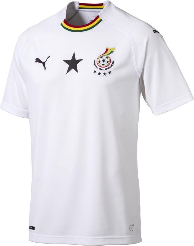 Puma apresenta a camisa reserva de Gana - Show de Camisas 1c3e62c2982ba