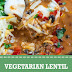 Vegetarian Lentil Tortilla Soup #vegan #soup