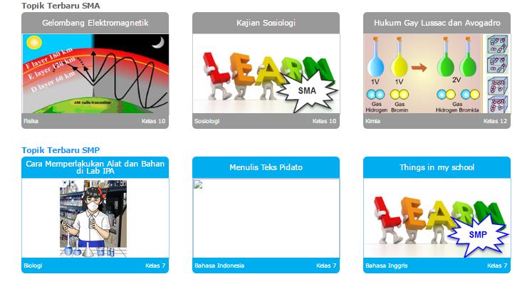 Cara Mudah Mendapatkan Media Pembelajaran Interaktif dari Sumber Belajar Kemdikbud