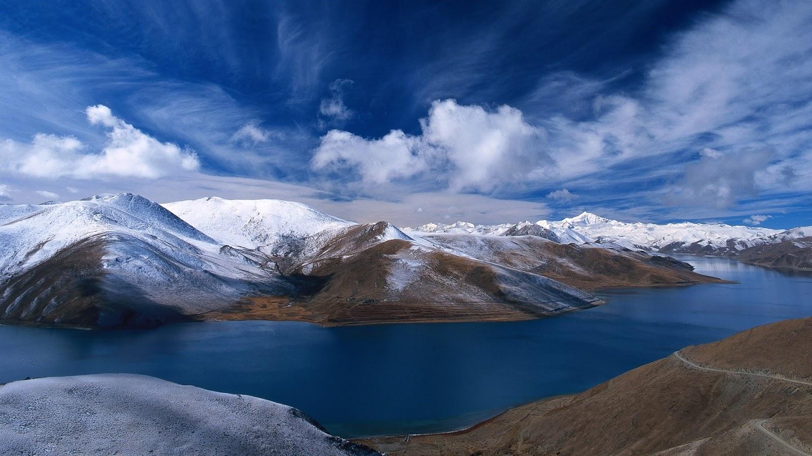 Potentes Montañas Nevadas Fondos De Pantalla: Imagenes Hilandy: Fondo Pantalla Paisajes HD Montañas Nevadas