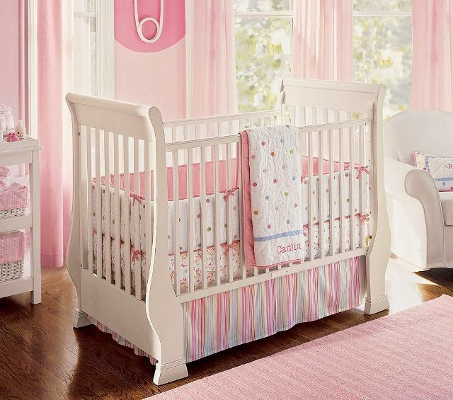painting ideas for a baby girl nursery