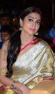 Actress Shriya Saran New Images in Silk Saree at Gautamiputra Satakarni Audio Launch  0019.jpg