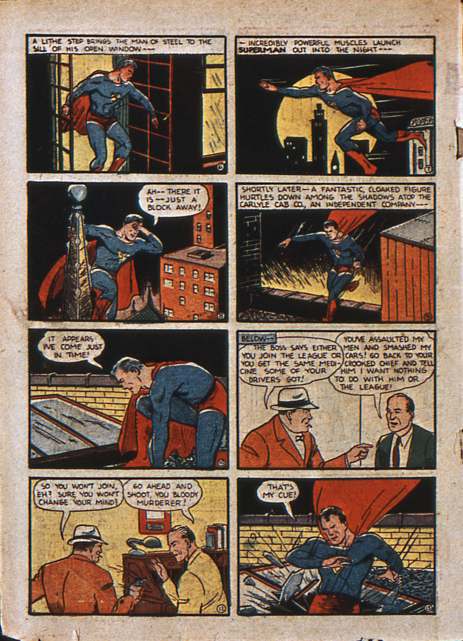 Action Comics (1938) 13 Page 3