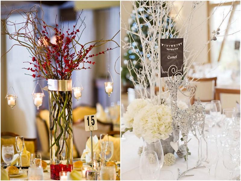 Christmas Wedding Colors.12 Days Of Christmas Centerpieces Day 10 Knotsvilla