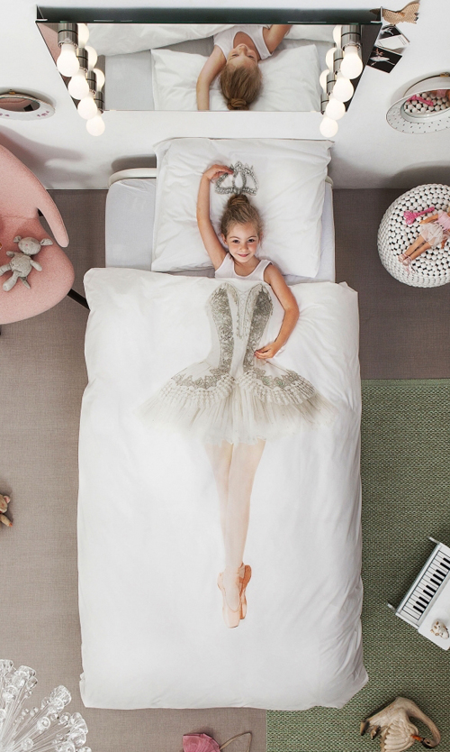 Beautiful Ballerina Duvet Cover
