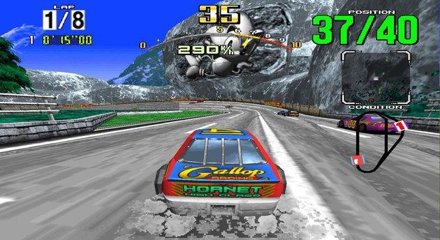 Daytona USA, Stacking y Tower Bloxx se unen a los retrocompatibles en ONE