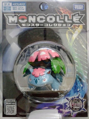 Mega Venusaur figure Takara Tomy Monster Collection MONCOLLE SP series