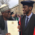 Outrage Sparked Online As Son Of NUC Boss Graduates From UK University. Photos