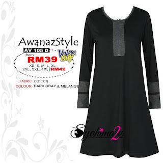 Baju_Muslimah_Awanazstyle-AV105D