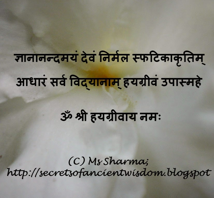 SecretsOfAncientWisdom: Mantra For Success in Studies and
