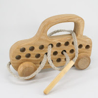 TT61, Threading Car, Lotes Wooden Toys