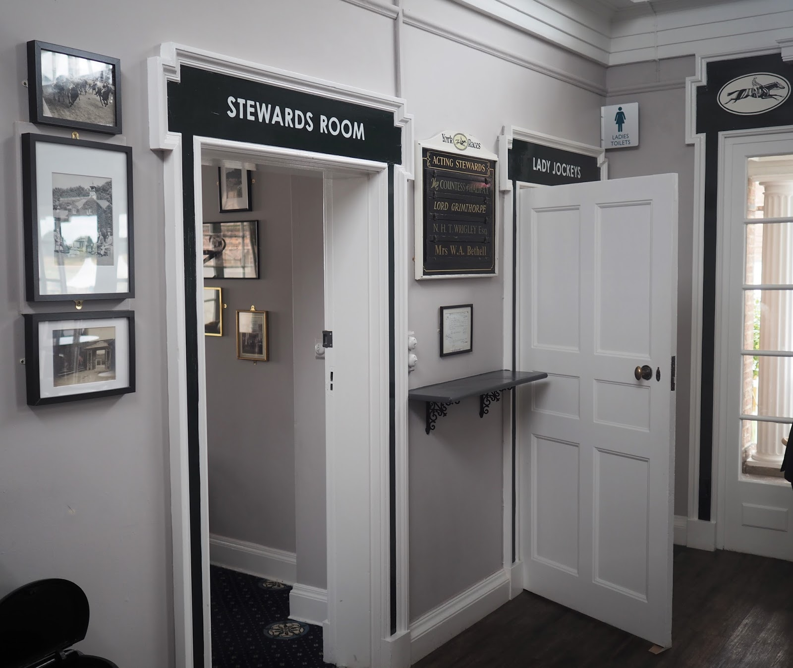 Edwardian Weighing Room