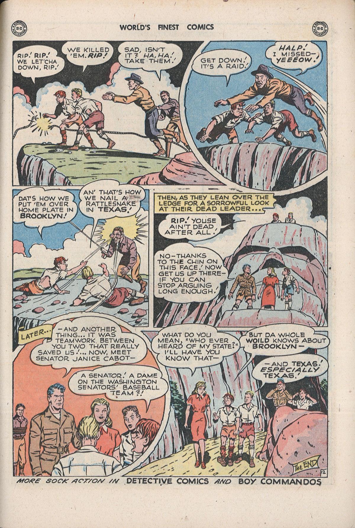 Read online World's Finest Comics comic -  Issue #33 - 59