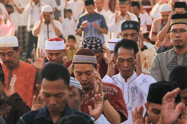 Umat Islam Shalat Idul Adha