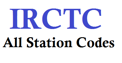 Indian Railways All Station Name And Station Code