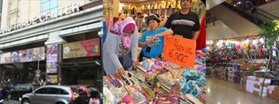wisata belanja di pasar baru bandung