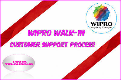 Direct Walk-in for Customer Support Process at Hyderabad