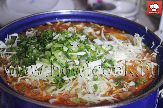 рецепт борща с томатом с пошаговыми фото