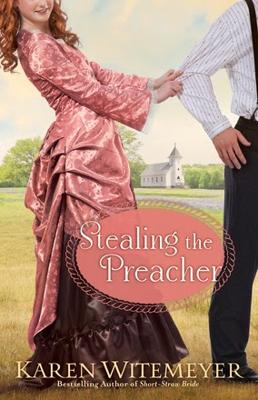 Book cover - Stealing the Preacher by Karen Witemeyer