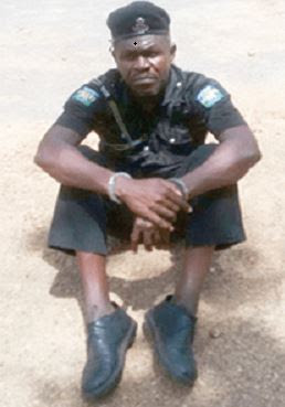 Dismissed Policeman Bought New Uniform & Promoted Himself