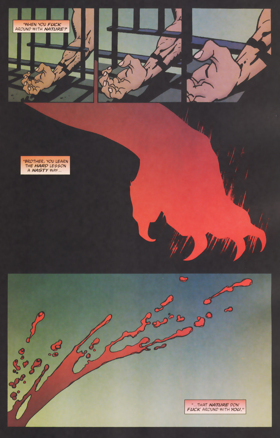 Read online 100 Bullets comic -  Issue #48 - 2