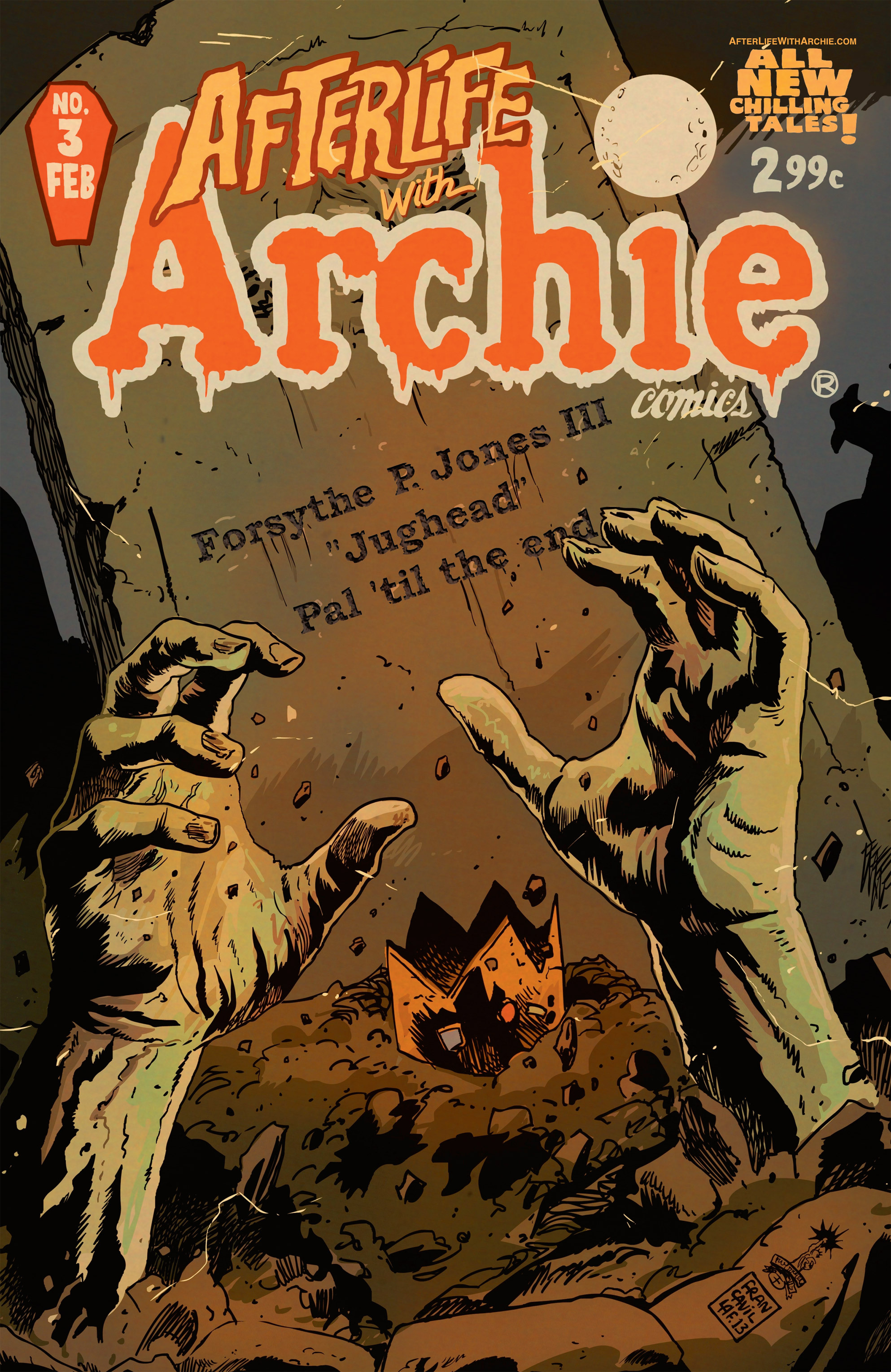 Afterlife with Archie 3 Page 1