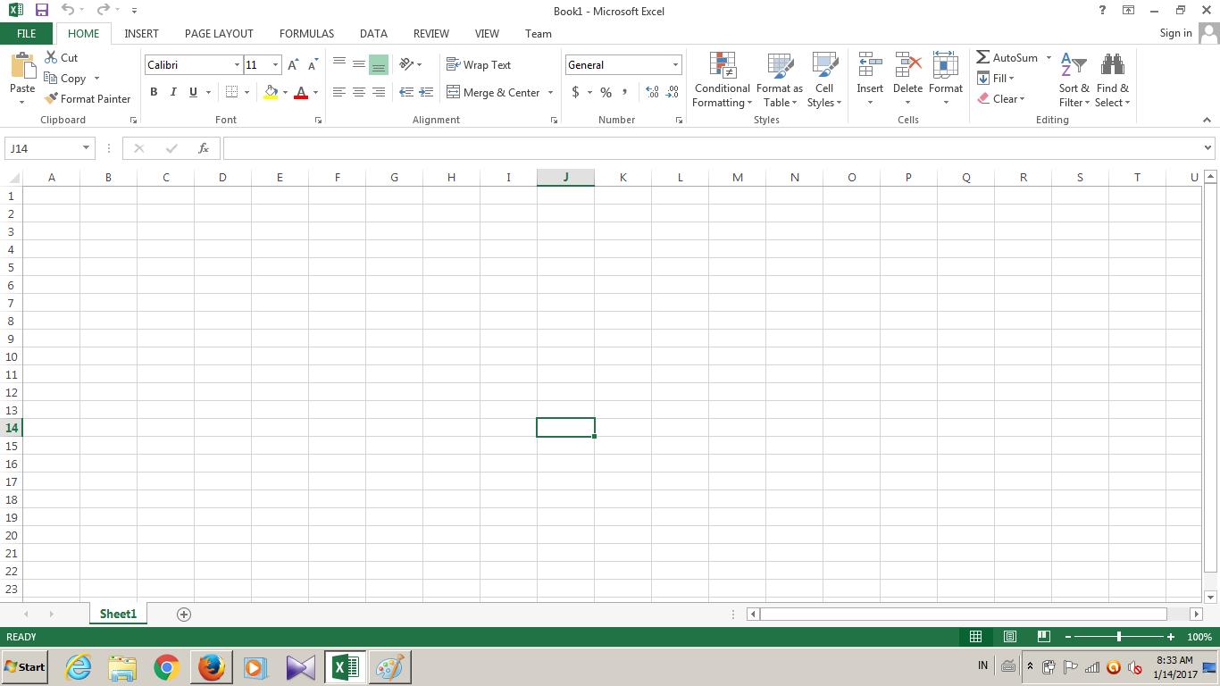 Pemahaman Mendasar Penggunaan Aplikasi Microsoft Excel