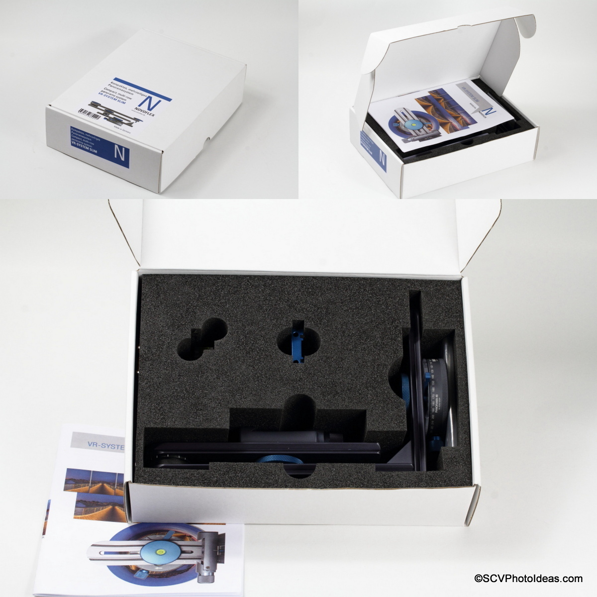 Novoflex VR-System Slim Panorama Head packaging