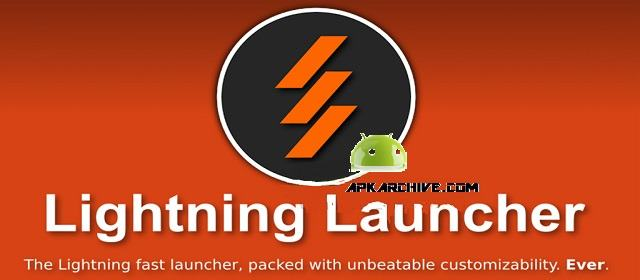 Lightning Launcher Android Kişisellestirme Apk indir