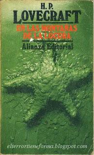 En las montañas de la locura es uno de los relatos más horripilantes de HP Lovecraft