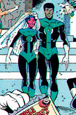 istri superhero green lantern