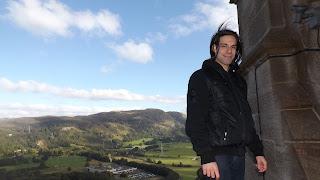Skót panoráma Stirlingben
