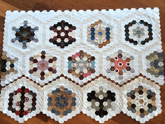Value Proposition hexagon quilt