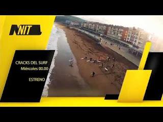 ¡Gran estreno de San Miguel Cracks del Surf El próximo miércoles 28 a las 00 00h en Nitro
