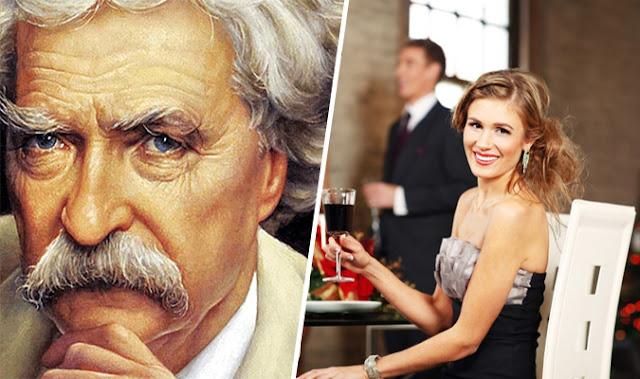 Mark Twain là một nhà văn Mỹ nổi tiếng với nhiều giai thoại hài hước liên quan đến cuộc sống