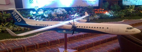 Pesawat Terbang R80 Kebangkitan Industri Dirgantara Indonesia
