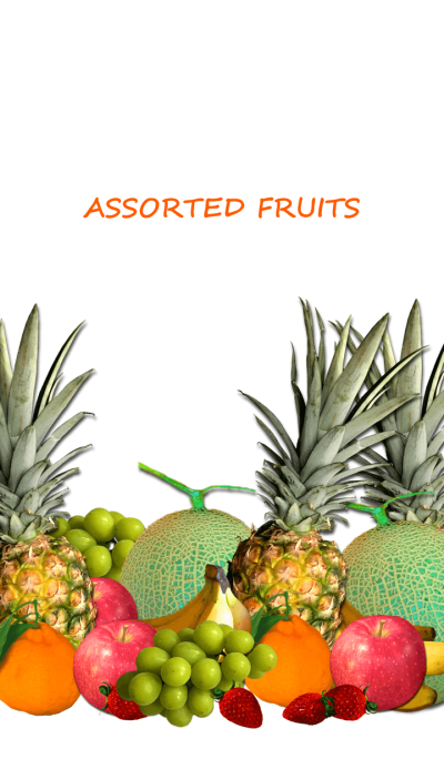 ASSORTED FRUITS Theme