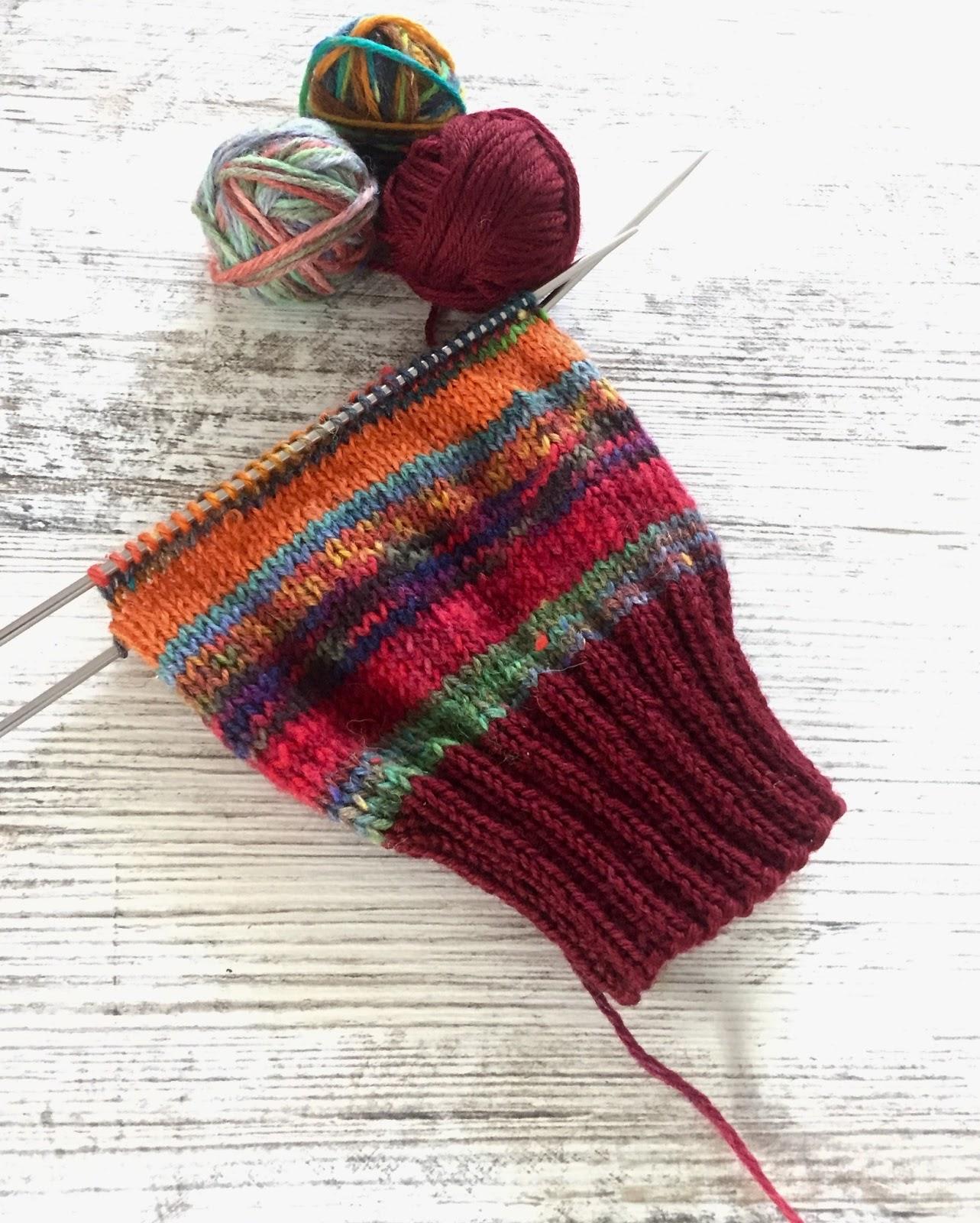Scrap Happy - Scrap Yarn Socks